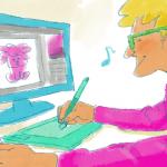 デジタル作画