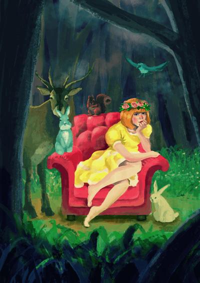 森の少女リメイク