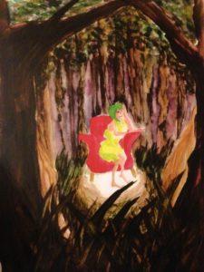 森の少女10年前