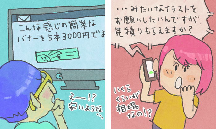 金額交渉例
