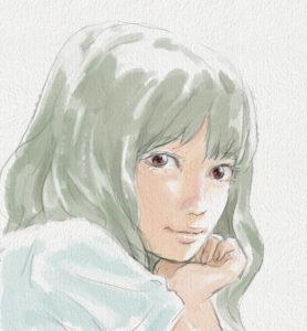 スケッチイラスト人物05