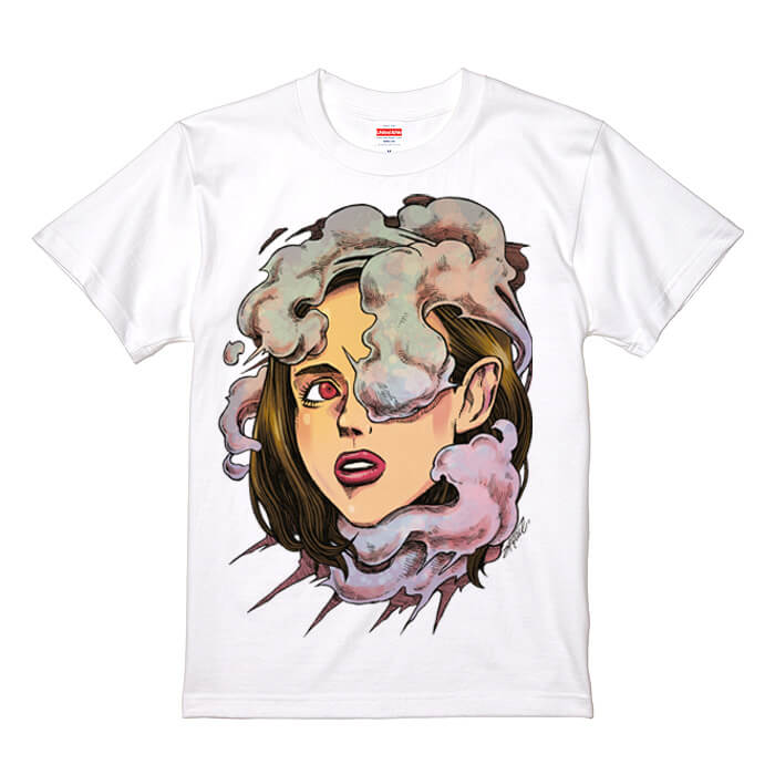 インクジェットで印刷したオリジナルイラストTシャツ