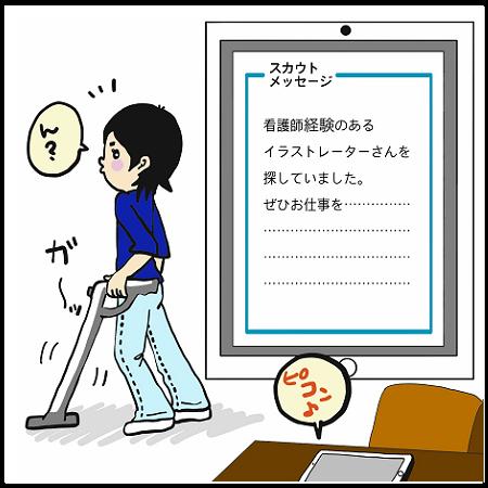 イラストレーター4コマ漫画_意外なプロフィール効果_3